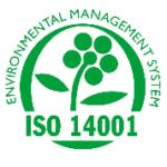 nos engagement - logo de certification ISO 14001